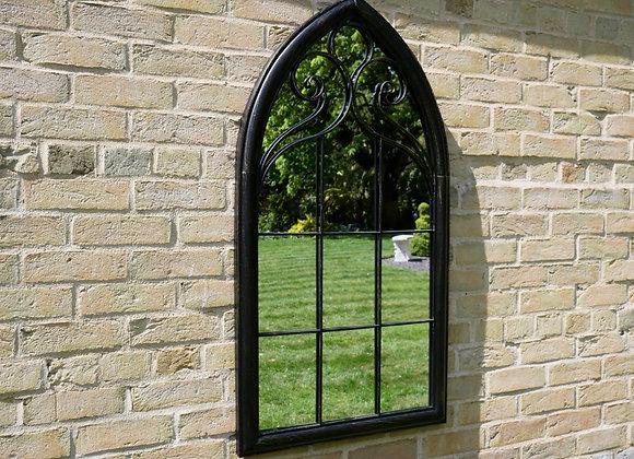 Large Arch Garden Mirror 111cm Indoor / Outdoor Vintage Romance