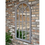 Thumbnail: Large Indoor Arched Grey Window Shaped Mirror