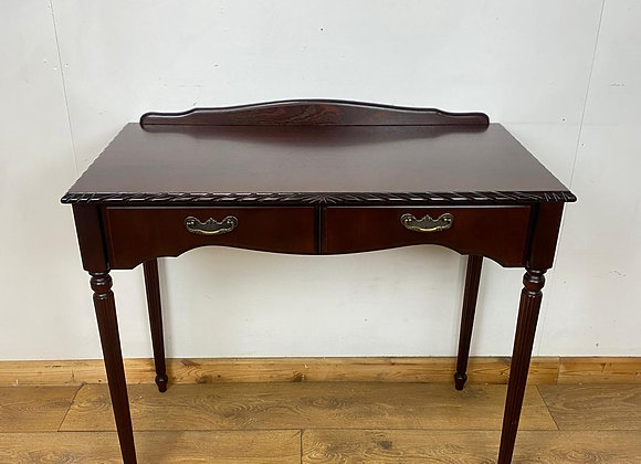 Vintage Wooden Console Table with Drawer