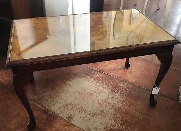 Small Burr Walnut Coffee Table