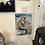 Thumbnail: Large Metal Sign Mermaid Bath Salts 30cm x 40cm