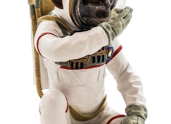 Monkey Astronaut Figurine - Speak No Evil
