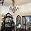 Thumbnail: Large Crystal and Iron Chandelier