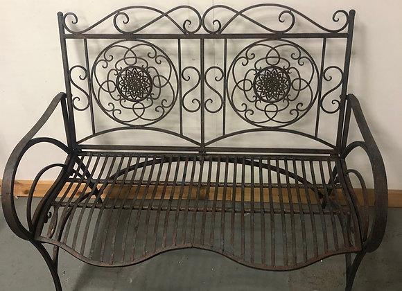 Beautiful Metal Garden Bench