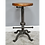 Thumbnail: Industrial Chic Style Cast Iron Stool
