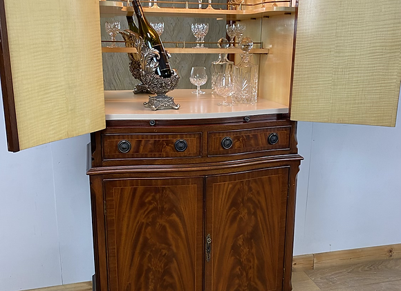 Vintage Jaycee Cocktail Cabinet with internal light