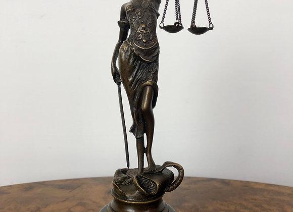 Bronze Garanti Sculpture of The Lady Justice