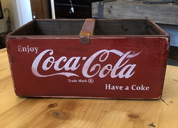 Large Vintage Style Crate Coca Cola Storage Box 35cm