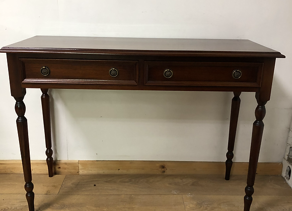 Vintage Console/Writing Desk with 2 drawers