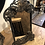 Thumbnail: Cast Iron Art Nouveau Style Table Mirror