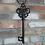 Thumbnail: Cast Iron Giant Decorative Key Wall Hanging Ornament