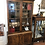 Thumbnail: Vintage Book / Display Cabinet with key
