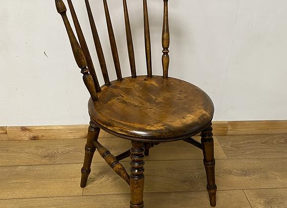 Antique Elm Wood Penny Chair