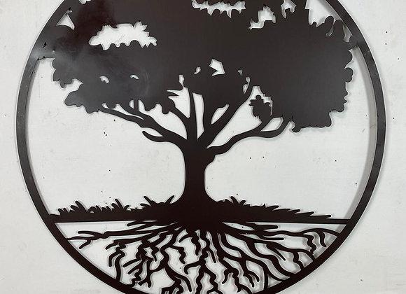 Large Metal Tree of Life Wall Decor