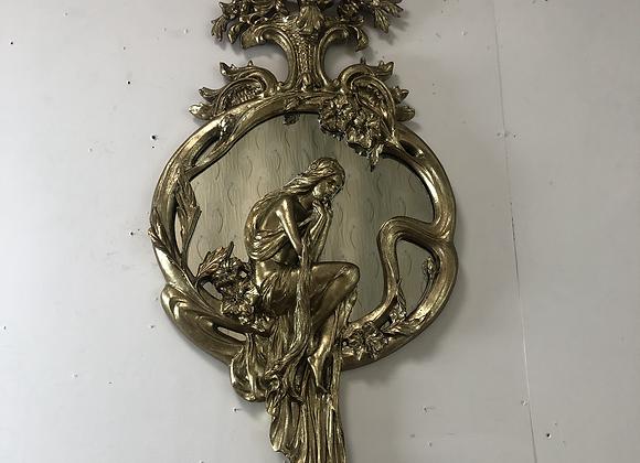 Beautiful Art Nouveau Style Wall Mirror