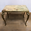 Thumbnail: Small Vintage Onyx and Brass Side / Lamp Table