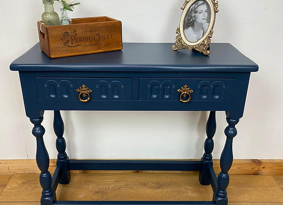 Console Table in Naval Brigade Blue