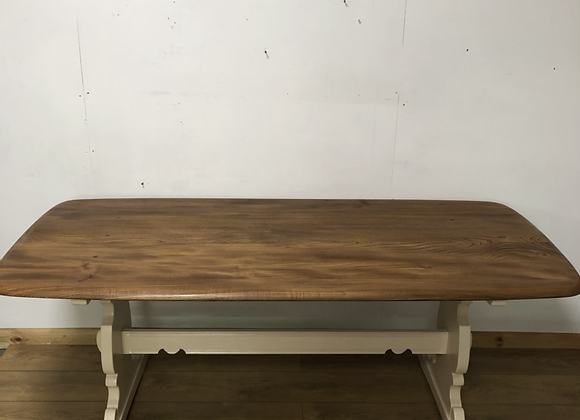 6 foot Vintage refurbished Ercol Dining Table