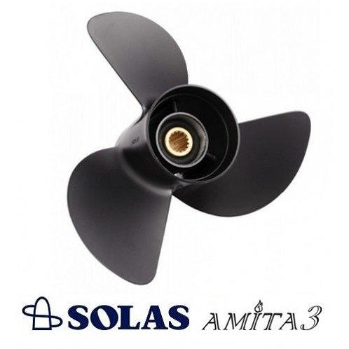 SOLAS 3411-131-19 (Yamaha - Point Style) 13.1 x 19 3-Blade Aluminum Propeller