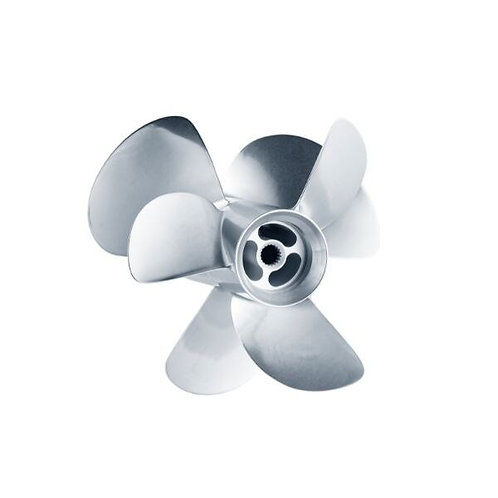 Volvo F6 Set (Front & Rear Stainless Steel 3-Blade Propellers)
