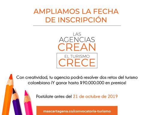 """Participe en el concurso Mincit: """"Las Agencias crean, el turismo crece"""""""