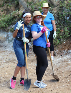 Bri and Grace with shovels.jpg