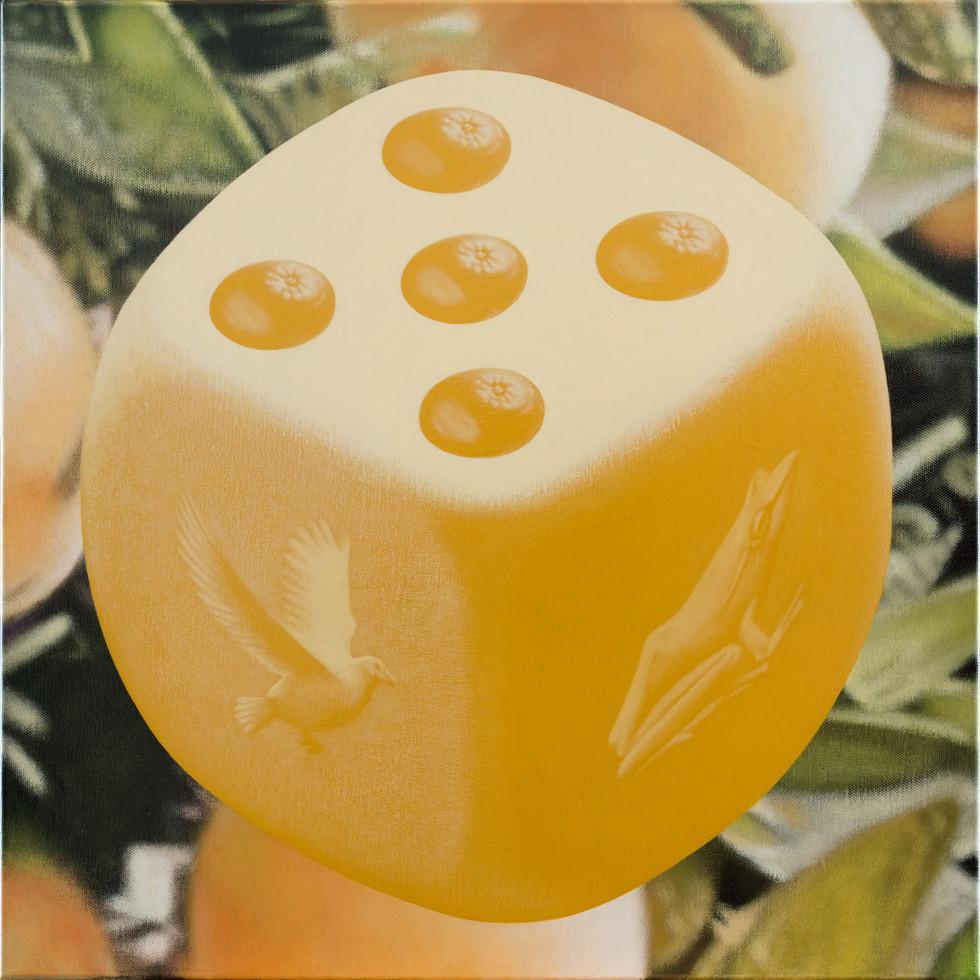 蛙、鳩、五橘 / Frog(I'm), Dove(Super), Five oranges(Rich)