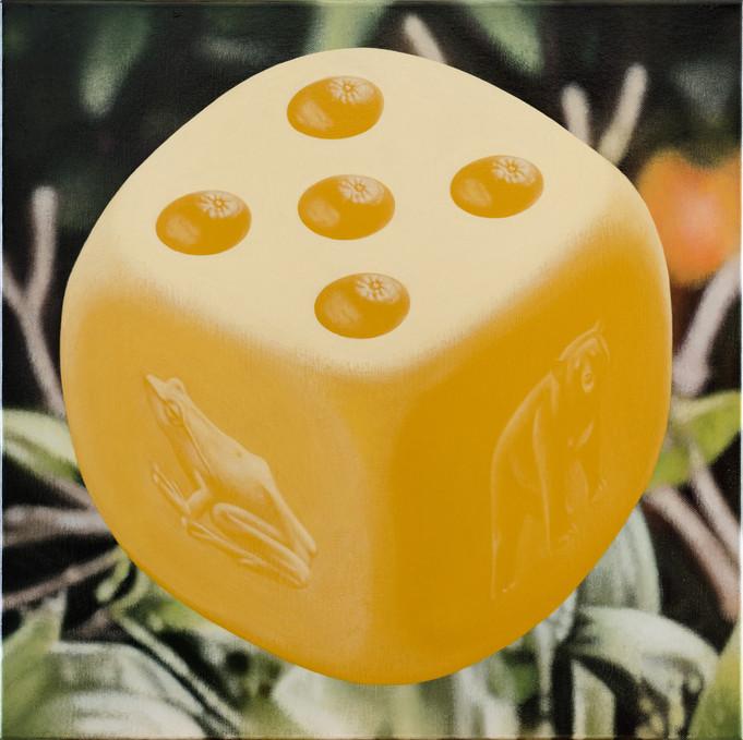 蛙、熊、五橘 / Frog(I'm), Bear(Very) , Five oranges(Rich)