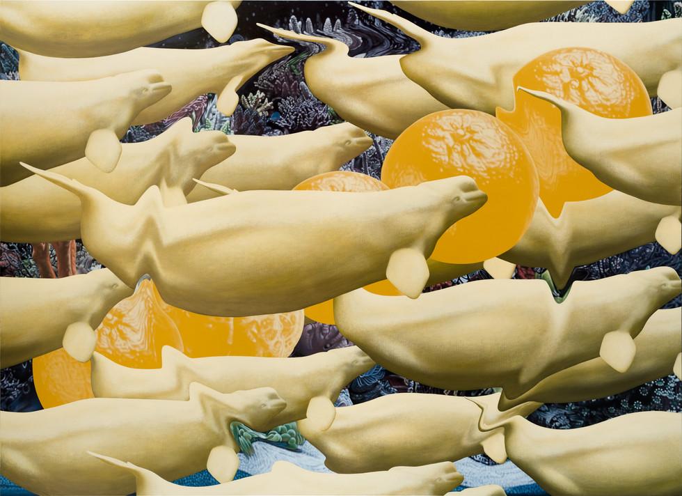鯨鯨鯨鯨鯨…、五橘 / Whale, Whale , Whale , Whale , Whale …(Truly, Truly, Truly, Truly, Truly…), Five oranges(Rich)