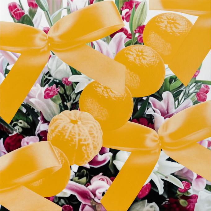 五橘、花 02 / Five Oranges, Flower 02