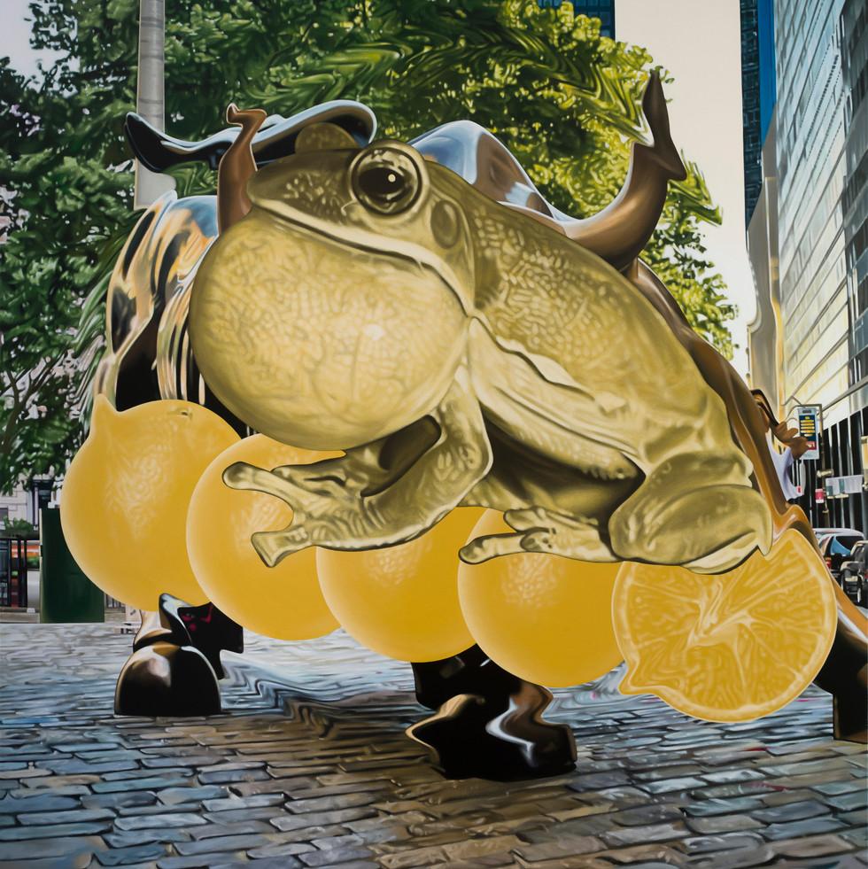 蛙、五橘 / Frog(I'm), Five Oranges(Rich)