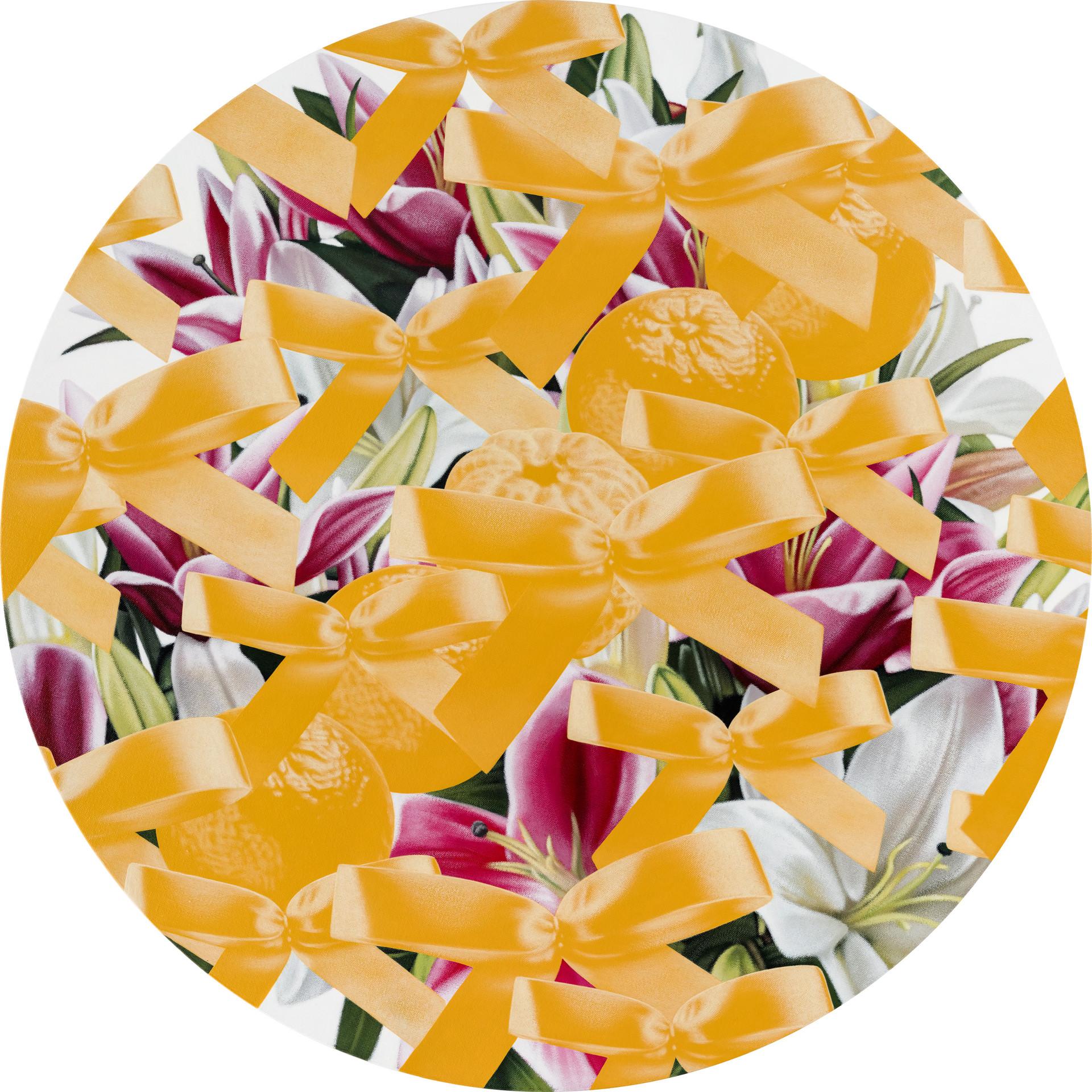 五橘、花 04 / Five Oranges, Flower 04