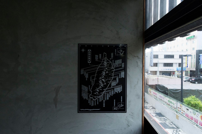 全台五O宮廟分佈圖/Wu O Temple Map of Taiwan