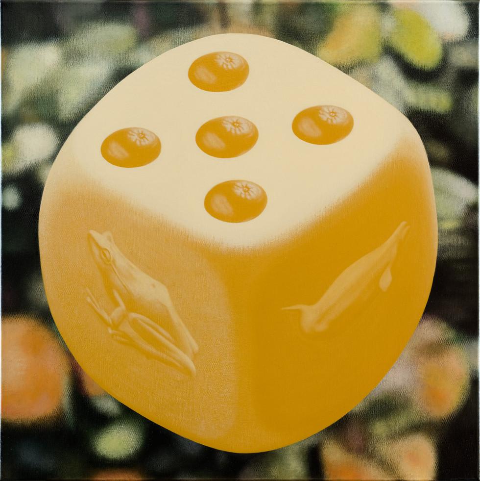 蛙、鯨、五橘 / Frog(I'm), Whale(Truly), Five oranges(Rich)