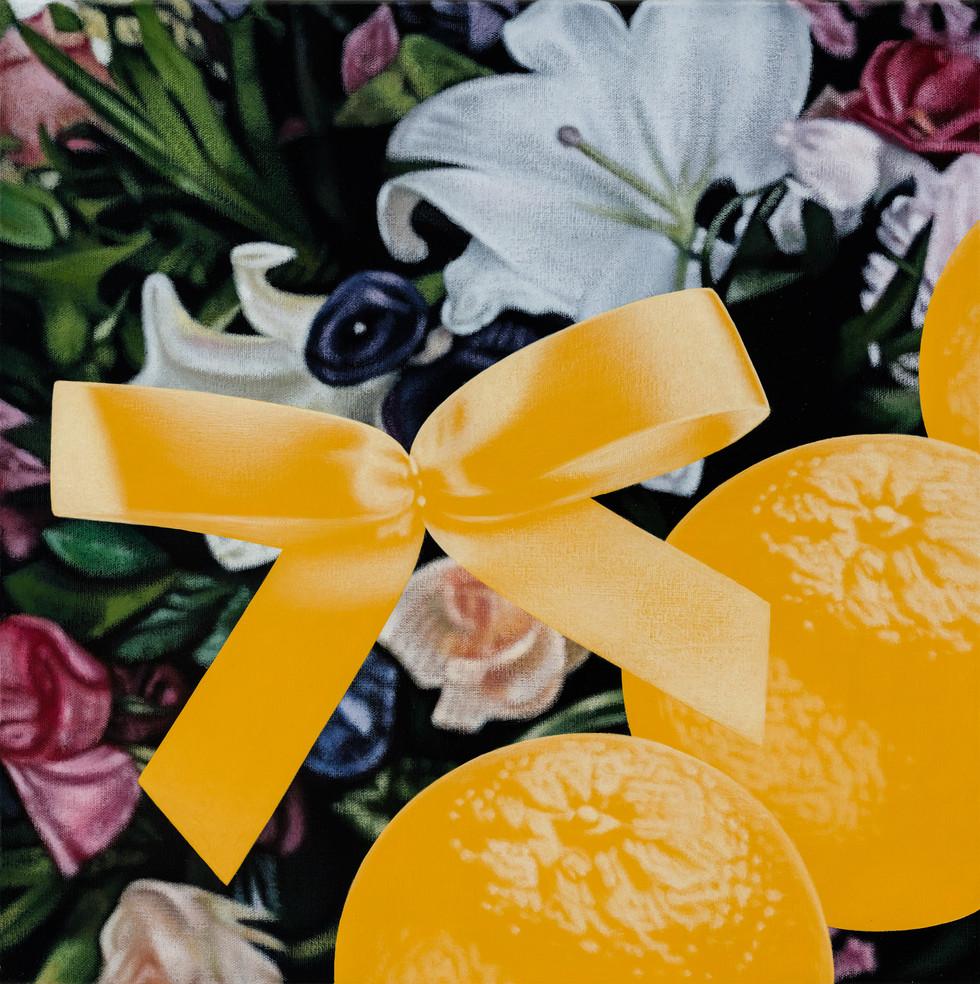 五橘、花 00 / Five Oranges, Flower 05