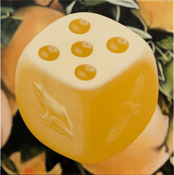 蛙、鷲、五橘 / Frog(I'm), Eagle(Super), Five oranges(Rich)