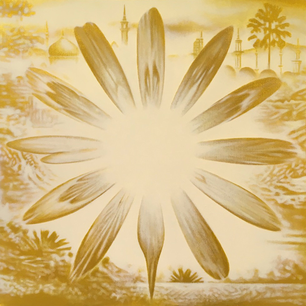養顏美容圖(風水加成) 金色紀念版 / The Flower of Skincare with Feng Shui Gold Edition