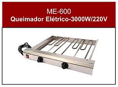 Queimador elétrico