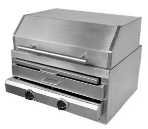 CHURRASQUEIRA OPTIGRILL FLEX 600-IV (gás infra-vermelho)
