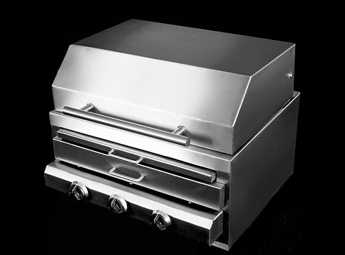 #Churrasqueira_gas_optigrill_inox