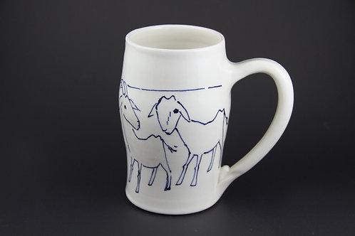 Large Goat Mug