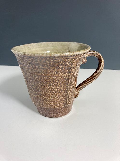 Temoku soda fired mug