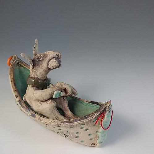 Small boat creature