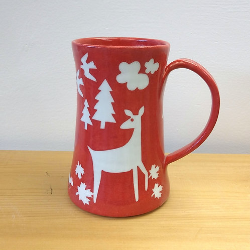 Tall forest mug on res