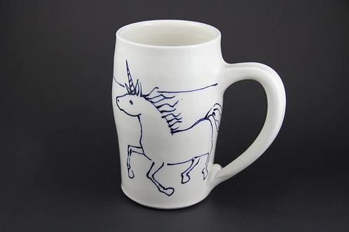 Large Unicorn Mug
