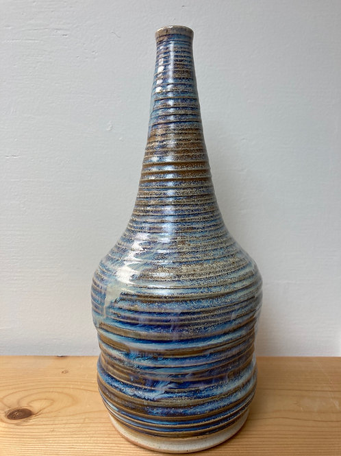 "10.5"" Spiral Waves Bottle"