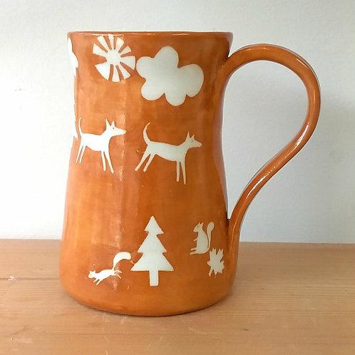Forest mug golde
