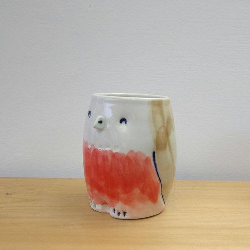 Robin cup 3.5 inch high
