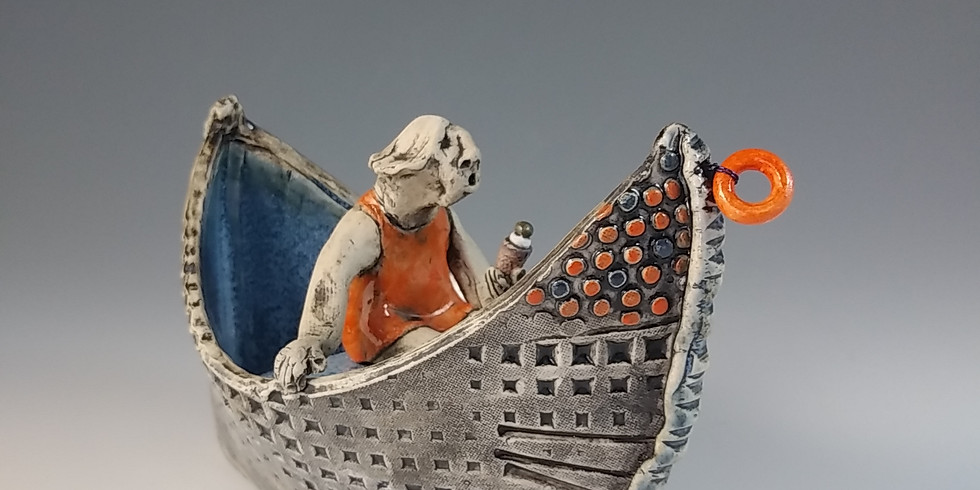 Narratives in clay: build a boat