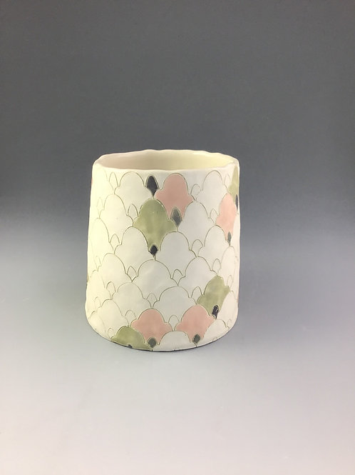 "Vase 3.5"" or tumbler   By Kellsey"